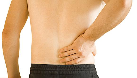 慢性腰痛の写真