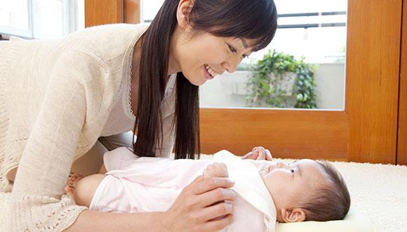 産前産後の腰痛の写真
